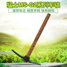 Hoe, pickaxe, outdoor ploughing, hill digging, all-steel vegetable digging and bamboo shooting dual-purpose horticultural tools for household use
