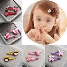 Children's hair ornaments, gleaming drops, cartoon BB clip, girl headwear, Liu Haijia hairpin girl clip, baby hairpin