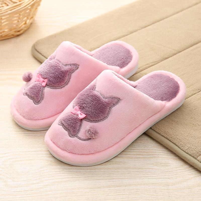 可爱儿童拖鞋冬季保暖鞋儿童棉鞋男童女童厚防滑居家鞋亲子棉拖鞋