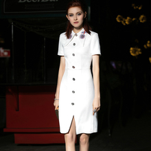 Maiguo Fashion Birthday Party Dresses Women can wear a suit dress at ordinary times with simple, generous, short style and slim temperament