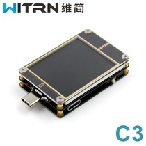 WITRN-C3 current voltmeter USB Tester QC4 PD2 3 0 PPS fast charge protocol detection CC table