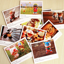Wholesale price lomo style small card childrens day Pauli Lai postcard greeting card cartoon series
