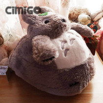 Simi fruit cartoon Totoro cute Chinchilla big slippers warm feet shoes pillow cushions winter models