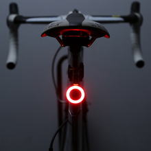 Bicycle taillights usb charging mountain bike lights night riding road bike riding bright creative taillight equipment accessories
