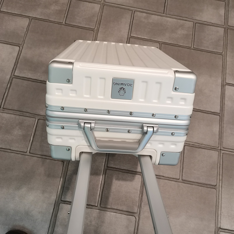 日本漫游鋁框行李箱萬向輪拉桿箱28旅行箱密碼登機箱子24寸26男女