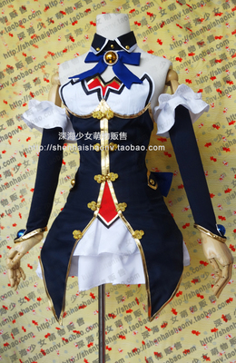 taobao agent Super-dimensional game Neptune Novaru Noire cosplay costume custom-made neckwear socks are also available