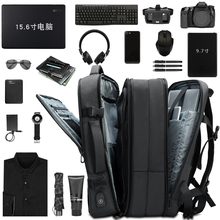 Ogg backpack for men can expand 15.6 inch Laptop bag for large capacity travel bags