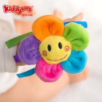 Baby rattle toys 0-3 months newborn cloth Bell 1 year old baby training plush cloth wrist rattle