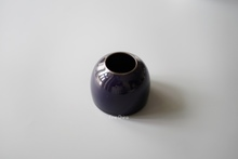Porcelain mouth - pure handmade sacrifice to blue glaze, water bottle, water droplets, elegant study