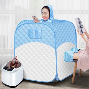 汗蒸箱家用全身排毒发汗浴箱家庭式满月产后桑拿房单人蒸汽熏蒸机