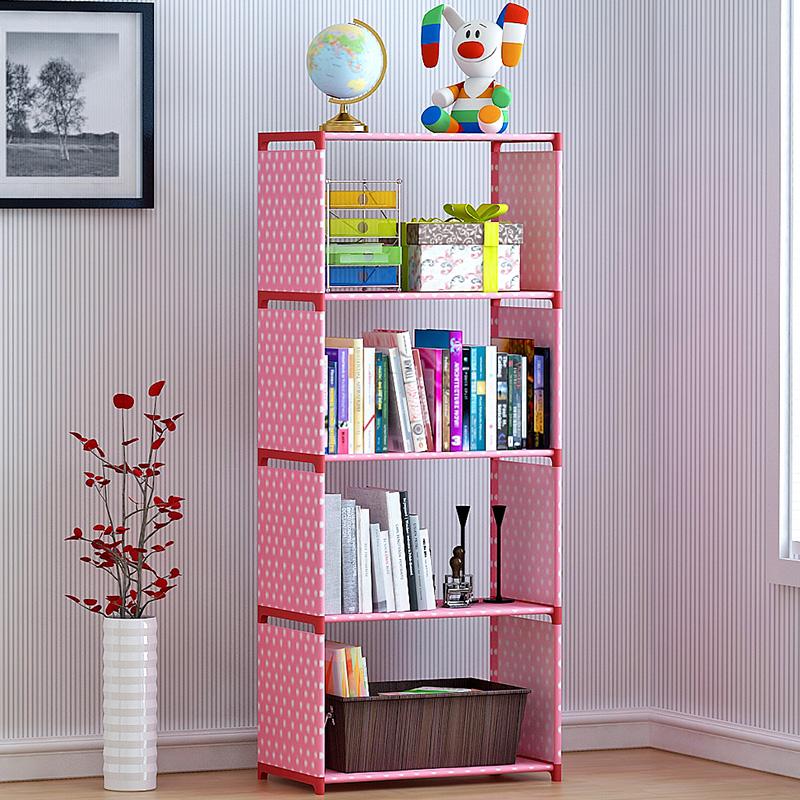 塑料卧室廚房客置物架宿舍多層雜物儲物架收納省空間架子簡易書架