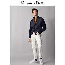 Spring and Summer Promotion Massimo Dutti Men's Garment 2019 New Quilt Stitching Long Sleeve Open-top Men's Top 00985303401