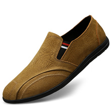 Leather Shoes Men's Shoes Spring Bean Shoes