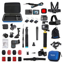 Gopro suite is suitable for GoProhero 7/6/5/4/ant Sport Camera self-timer pole receipt package novice entry suite diving bike climbing battery charger accessories