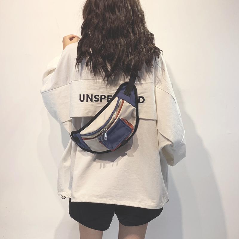 上新小包包女2020新款潮韩版洋气单肩包时尚百搭斜挎帆布胸包腰包