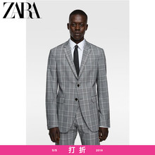 ZARA New Men's COOLMAX Chequered Suit Jacket 09621596802