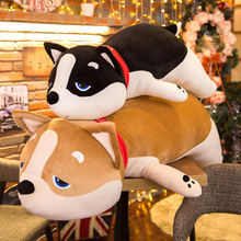 Wooddog plush toy puppy Kiki doll Korean doll cute girl accompanies you to sleep pillow Chao Meng