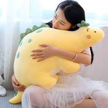 Cute Dinosaur plush toy doll Chao Meng accompanies you to sleep with pillow Girl Doll birthday gift girl