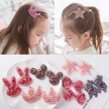 Children's hair ornament Korean lovely sequins posting baby sell head adorn Liu Haitie girl hair stickup magic stickers
