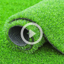 Plastic simulated lawn carpet green artificial lawn mock turf football field enclosure wall room outdoor
