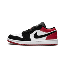 Air Jordan 1 Low Black Toe aj1 Men's Shoes Black Toe Basketball Shoes - 553558 116