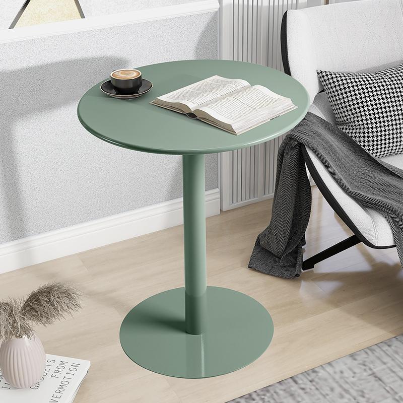 北欧沙发边几网红阳台小户型桌子轻奢铁艺极简约客厅茶几圆桌迷你