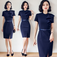 Professional Suit Female Mingyuan Xiaoxiangfeng New Formal Beautician Dresses Workwear in Spring and Summer of 2019
