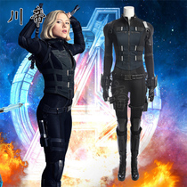 Sichuan Emperor film Avengers 3 Black Widow cosplay costumes féminins jumpsuit complet de maquillage cos Vêtements