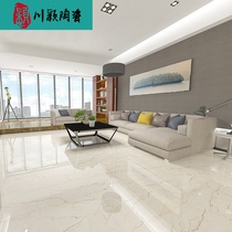 Foshan Floor Tiles 600x1200 All-in-the-board marble Slab living room curtain wall glazing anti-skid jazz white glazed Tiles