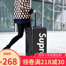 INS net red suitcase, pull-rod suitcase, suitcase, Korean version of personality password box, small universal wheel student tide of men and women