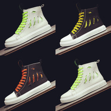 Summer Shoes, Men's Korean Edition Fashion, High-Up Shoes, British Retro-Old Board Shoes, Red Men's Fashion Shoes