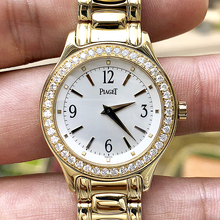 Collection Watches Used Piaget/Count 18K Gold Bracelet Luxury Diamond Gold Watch Quartz Watch