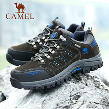 Camel 2019 New Mountaineering Shoes Men's Running Shoes Outdoor Sports Shoes Slip-proof Wear-resistant Low-upper Hiking Shoes Women Summer