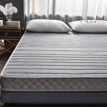 Thai Latex Tatami Mattress Soft Mattress Thickening Mattress Floor Paving Sleeping Mattress Dormitory Single Folding Sponge Mattress