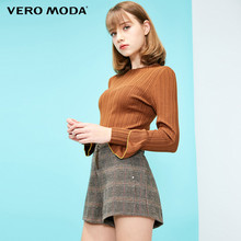 Vero Moda 2009 Spring New Elastic Ribbon Bottom Knitted Shirt for Women 319124525