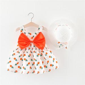 小童沙灘裙1-4女童夏裝裙子兒童連衣裙薄款夏季3歲寶寶吊帶公主裙