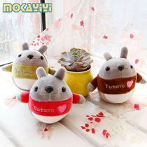 Cute little Chinchilla doll pendant key chain plush toy doll cloth doll wedding throwing small gifts