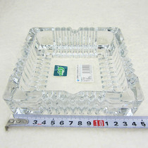 G1016 square crystal ashtray 5 from the ashtray 2 yuan store wholesale 2 yuan
