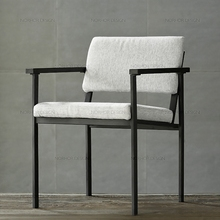 Nordic expression/from Netherlands/ASIADES series/JACOB cloth armchair/dining chair/leisure chair T