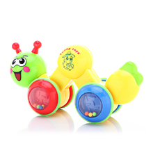 Bellecol 120-1 crawling lele cartoon caterpillar bell crawling baby learning crawling toy