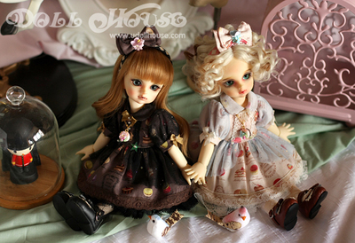 taobao agent [151111] 6 points BJD can wear a small dress, like macarons, YOSD, etc., all in Shanghai store