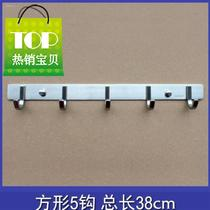 Beauty salon clothes hook clothing store with 122020 fixed dressing room load-bearing hook door hanging after hanging home