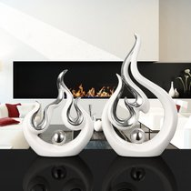 Office decoration company thriving creative modern living room decoration set up to open gift shop to attract money