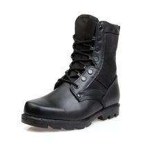 Special Forces 07 Combat Military Boots Mens Real Leather Mens Boots Outdoor Tactical Boots Waterproof Jungle Boots Mountain Boots.