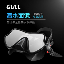 GULL-textured aluminum alloy cool professional diving mirror snorkel fishing hunting anti-fall deep diving equipment