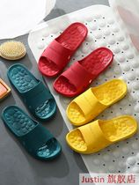 Slipper womens summer indoor bathroom non-slip home bath four seasons deodorant summer home couple sandals mens summer.