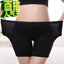 Anti-grinding thigh root womens underwear anti-light safety pants three-and-a-half minutes pants womens summer shorts insurance pants leggings 7 pants fat.