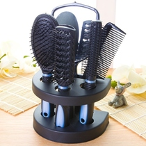 。 Bone comb home curly comb mens hair blow fluffy tool scratching comb back hair style god.