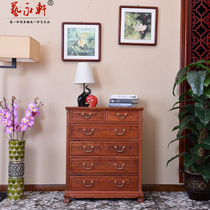Burmese pear 6 bucket big fruit purple sandalwood six bucket cabinet retro bucket cabinet redwood locker solid wood cabinet storage cabinet storage cabinet