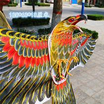 Weifang traditional kite large eagle golden eagle fishing eagle kite three-dimensional bamboo hand-crafted exhibition decoration
